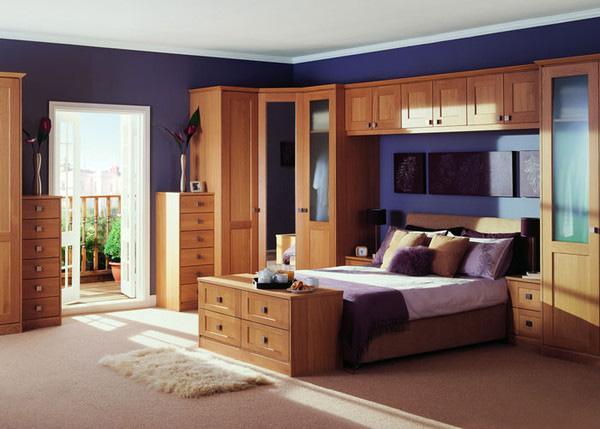 Купить встроенную мебель для спальни в москве на заказ.